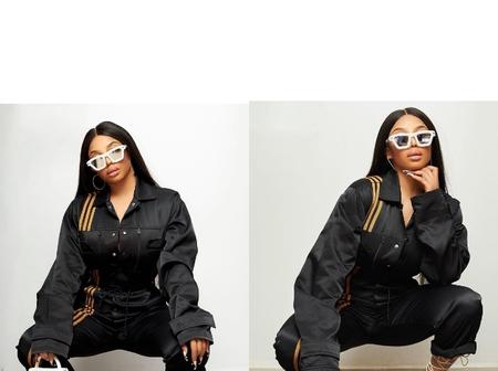 Toke Makinwa Looks Stylish in Beyonce's Ivy Park Sportswear (Photos)