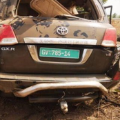 Driver Killed And  Two (KNUST) Lectures In A Critical Condition Through  Accident