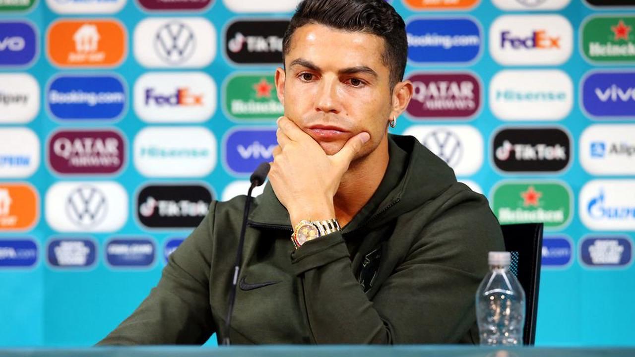 Portugal's Cristiano Ronaldo couldn't stand Coca Cola being at Euro 2020 press conference