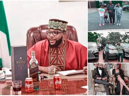 Today is E-Money's birthday, See his family