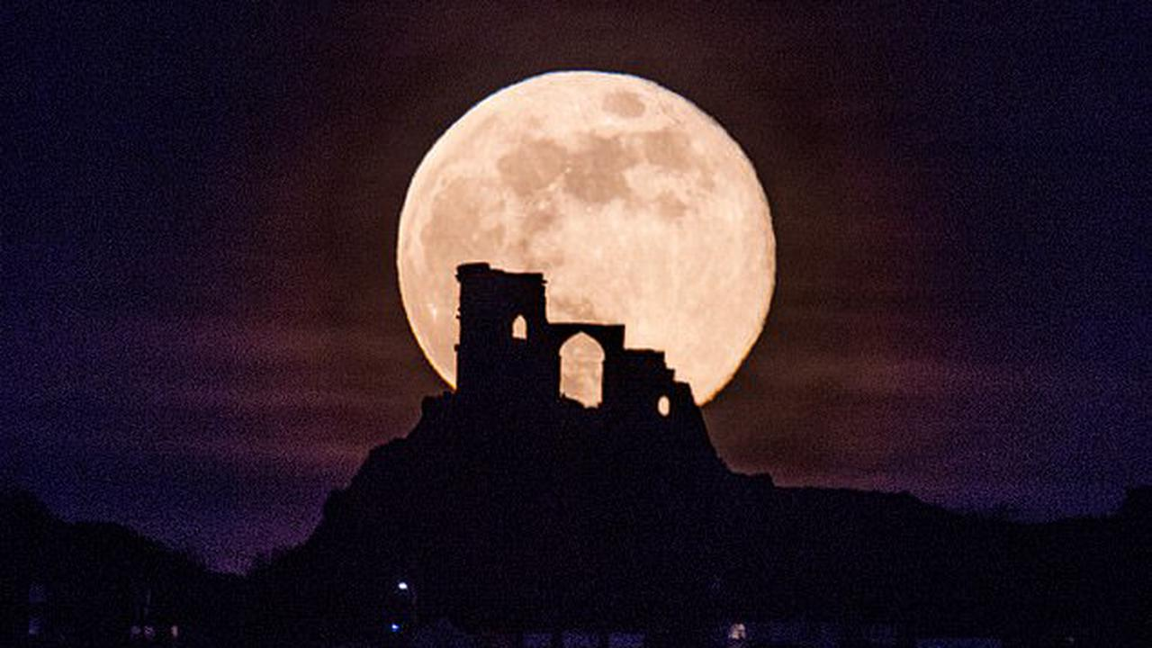 Don't miss the Pink Moon! Supermoon set to dazzle the night sky MONDAY will be 30% brighter and 14% larger than what is typically seen