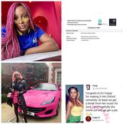 DJ Cuppy's Replies Follower Who Said She Should Get A Job After Masters