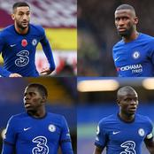 Check out edited Photos of these 4 Chelsea players wearing Hausa attire