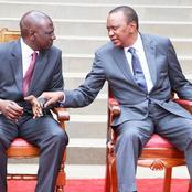 Ruto's Top Ally Passes A Congratulatory Message To Uhuru Kenyatta