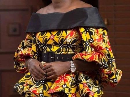 Look Elegant And Adorable In These Sophisticated Ankara Styles