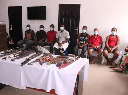 Nigerian Security Forces Arrest 16 ESN Members, Recover Several Weapons [PHOTOS]