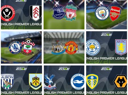 Premier League Is Back, Checkout The Team Your Club Will Face This Weekend
