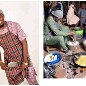 What A Woman Can Do, A Man Can Do Better- Mixed Reactions As A Man Was Seen Frying And Selling Akara