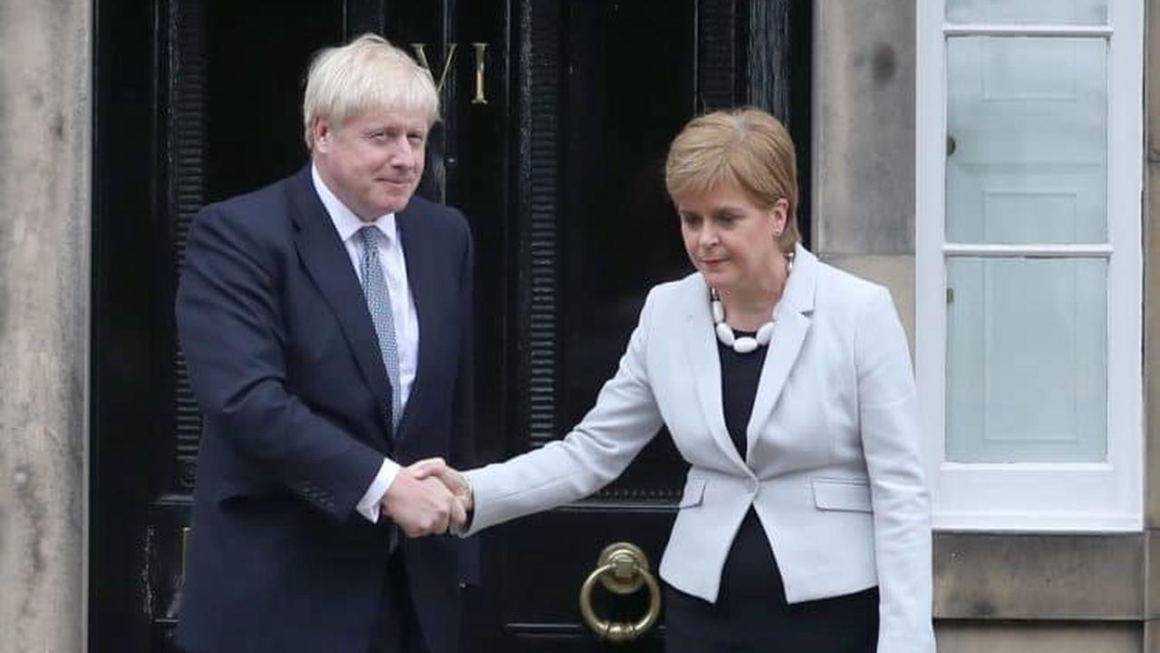 Johnson goes to Scotland