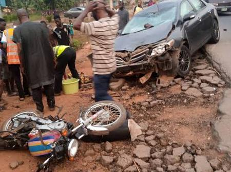 Motor accident kills two in Osun state.