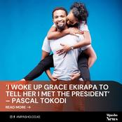 After His Reaction To Meeting The President This Morning See What Pascal Tokodi Did To Wife Ekipara