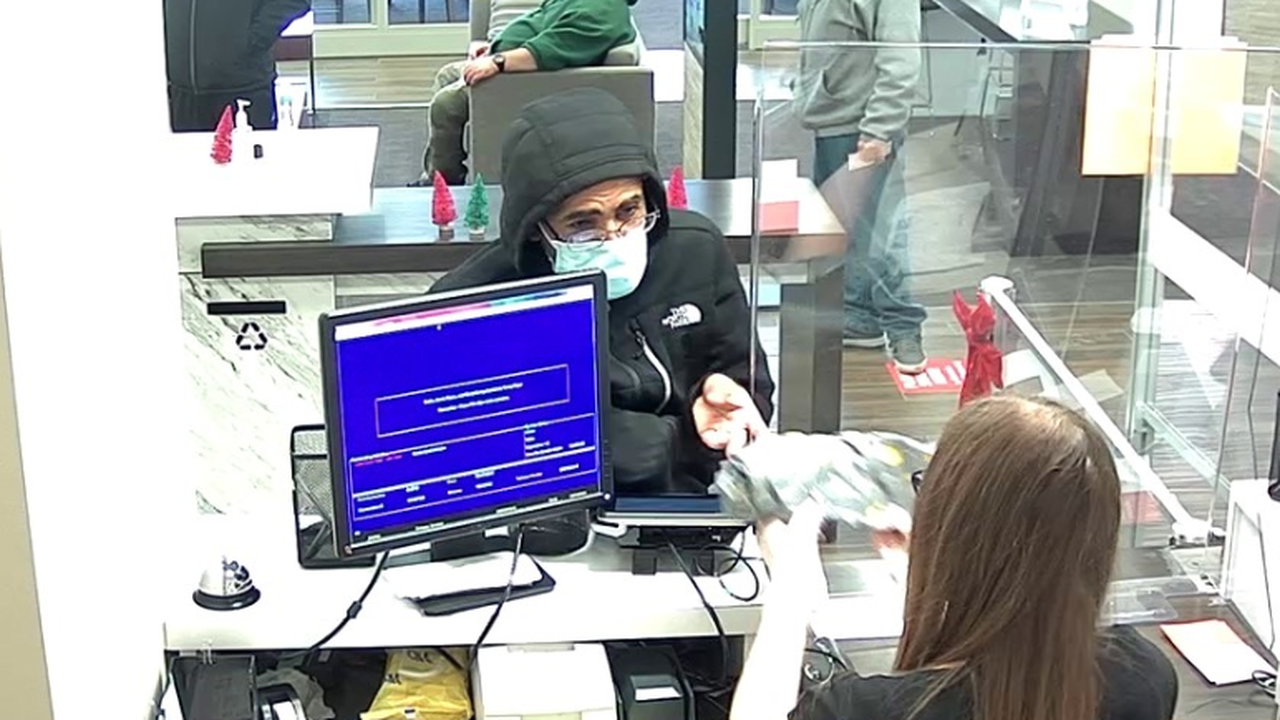 Reward Offered in Search for Santa Rosa Bank Robber: Police