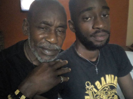 Veteran Nollywood actor, Gbenga Richards, shares new photos with his look-alike son