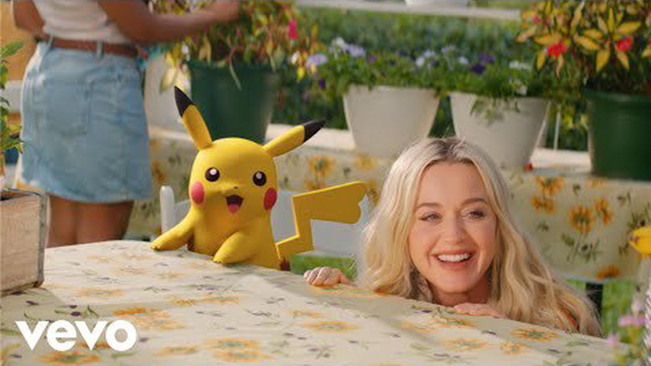 Watch Katy Perry, Pikachu Travel Back in Time in 'Electric' Video