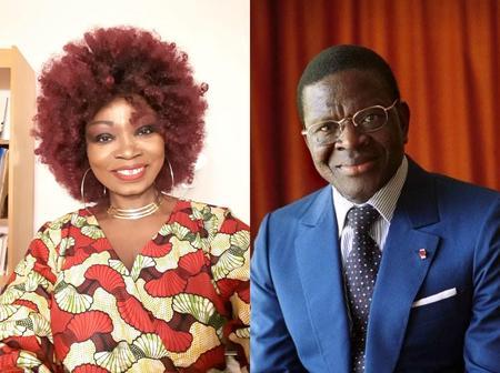 Chantal Taiba raconte son histoire avec feu le ministre Laurent Dona Fologo