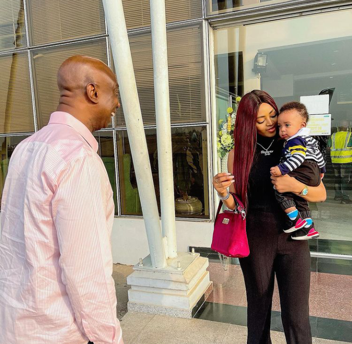 Today is Munir Nwoko's birthday, Check out lovely pictures of him spending time with his parents 14