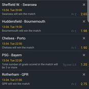 Super Eight(8) Multibets Carefully Fixed With Superb Odds To Earn You Massively Tonight