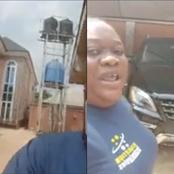 Mixed Reactions As Don Davis's Mother Shows Off Her Father's House And Cars(Video)