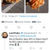 Mixed reactions arises as lady shares her R12 chips