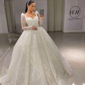 Brides, Check out these bright and Elegant wedding gowns to rock on your big day