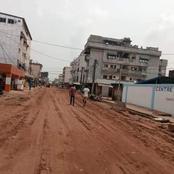 KOUMASSI : le maire Bacongo lance le programme de reprofilage des voies non bitumées de la commune