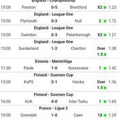 Seven Expertly Fixed VIP Multibets With GG, Over 2.5 For Tonight's Huge Returns.