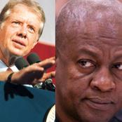JM Can Do What The 39th US President Did Instead Of Contesting In Ghana's 2024 Presidential Election