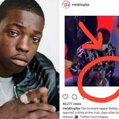 VIDEO: See What Bobby Shmurda Did After He Was Given A Drink At A Night Club