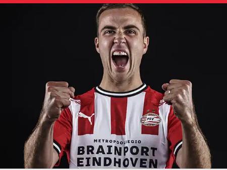 Germany 2014 world cup winner mario Götze join PSV.
