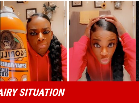 Remember the lady who used Gorilla glue on her hair? See what she looks like now