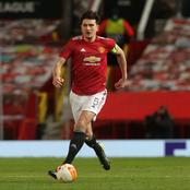 UEL: Following Maguire's Suspension, See The 3 Players That Captained Man Utd Against Granada