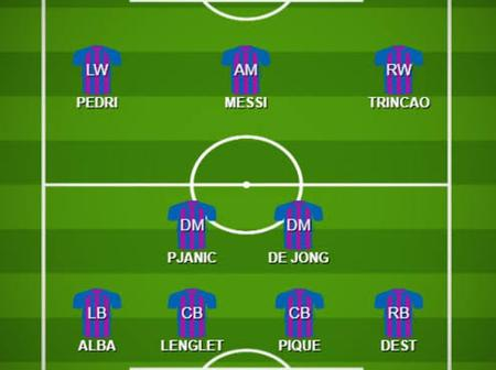 Opinion: Dynamo Kiev could be scared to face FC Barcelona if Koeman uses this smart lineup.