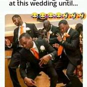 MEME: It almost ended in tears at this wedding