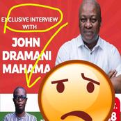 NPP's Uncomfortable; Kwesi Pratt To Host Mahama For A Key Interview Tomorrow- Photos