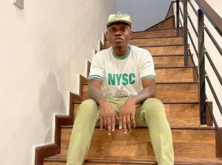 See Nigerian's Funny Reaction As Zlatan Ibile Shares His Pictures In NYSC Uniform