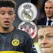 Man United could get Jadon Sancho For as Little as £75m But are no Longer Favourites to Sign Him