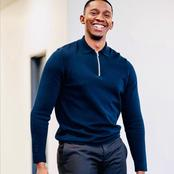 Zolani from the River left fans gushing over his amazing smile on his recent post.