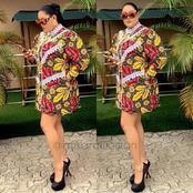 Lover Of Short Gowns? Check Out These Ankara Short Gown Designs For Beautiful Ladies