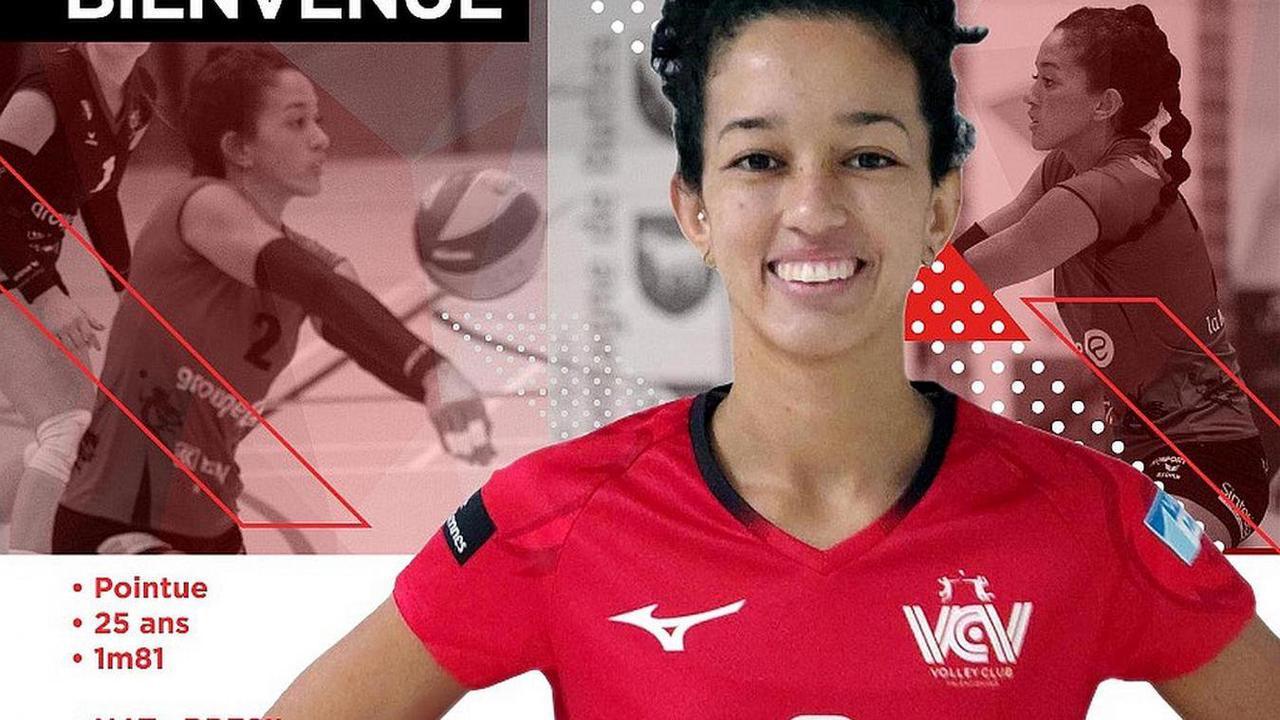 - Volley : la Brésilienne Manoela Duarte, nouveau renfort pour le Volley Club de Valenciennes