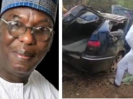 More pictures of the auto crash that killed Plateau lawmaker and his son on their way for wedding