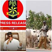 Today's headlines: Miyetti Allah kicks against anti-grazing law, Yahaya Rejects Covid-19 Vaccine