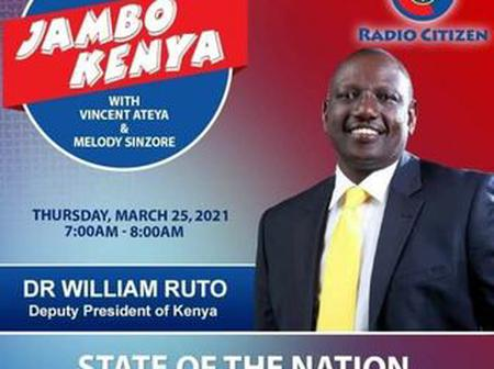 Internet Erupts After The Deputy President William Samoei Ruto Posted This
