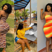 Photos: Beautiful Ghanaian Artist Causes Massive Stir On The Internet With Her Curvy Body and Talent