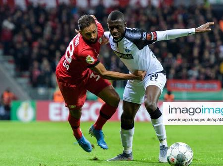 Super Eagles star rescues a point for his German Club in their 2-2 League draw