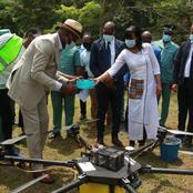 Côte d'Ivoire : le PNUD met 12 drones de surveillance à la disposition du Ministère des Eaux et Forêts
