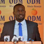 ODM Chairman Leaks When They Are Likely To Remove Their Party SG Edwin Sifuna
