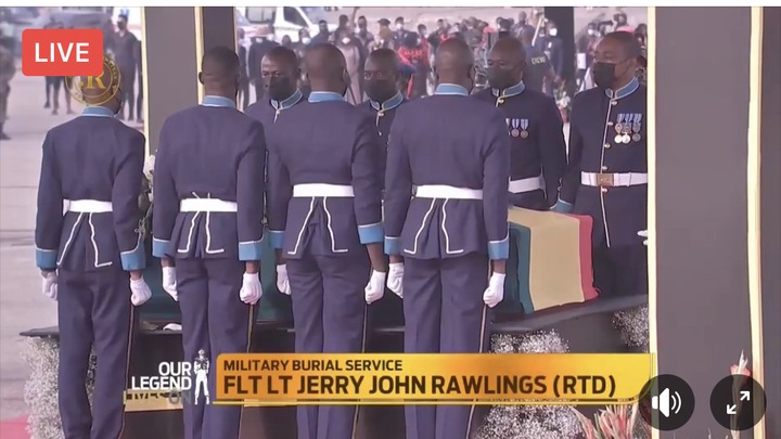 59a3c7eb4202422c8c270ec34a8f5d17?quality=uhq&resize=720 - Sad Moment: How JJ Rawlings Was Conveyed By The Military To The Newly Built Burna Camp Cemetary