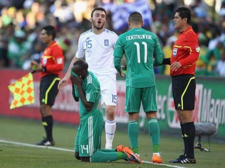 The Day Greek gods Broke The Wings of Nigeria's Super Eagles