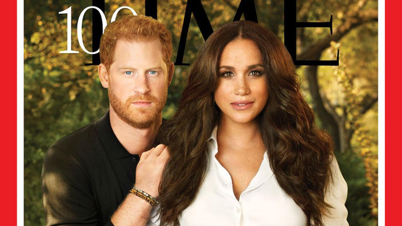 Too Airbrushed? Prince Harry, Meghan Markle's 'Time' 100 Cover Roasted