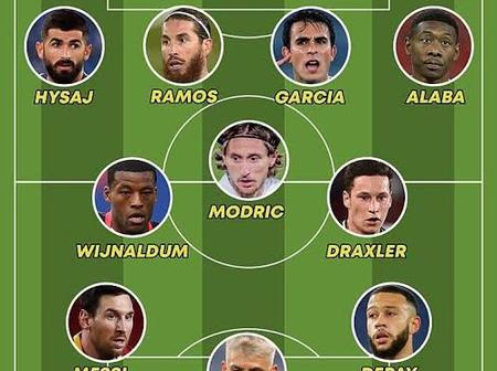 Of Messi, Aguero, Ramos And a Host of Stars Set tp Leave as Free Agents; Who Will Make First XI?